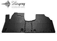 Fiat Scudo  1995-2007 Комплект из 3-х ковриков Черный в салон