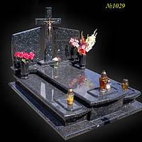 Пам'ятник гранітний подвійний з лабладориту 1401901029