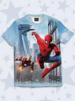 Детская футболка Spider-Man and Iron Man