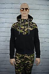 Мужской спортивный костюм камуфляж зимний