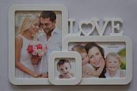 Рамка коллаж YW -005 Love 3 фото