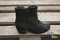 Ботинки женские зимние. Оригинал. Германия. Кожзам, мех, 38р. Сток.