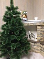 Сосна елка искусственная, пушистая 1,6 м + игрушка ручной работы в подарок