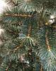Сосна елка искусственная с белыми кончиками 1,9 м +игрушка ручной работы в подарок, фото 4