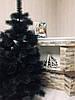 Сосна елка искусственная с белыми кончиками 1,9 м +игрушка ручной работы в подарок