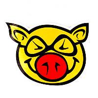 Стикер Yellow Pig