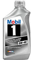 Mobil 1 Advanced Full Synthetic 0W-40 синтетическое моторное масло, 0,946 л
