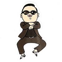 Стикер Gangnam Style