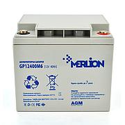 MERLION AGM GP12-40 12V 40AH - мультигелевый акумулятор для котла