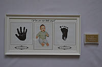 Рамка коллаж 8732 детская 1 фото+2 отпечатка