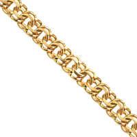 Золотой браслет на ногу бисмарк в золоте 585 пробы 850 гривен за грамм