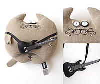Мягкая игрушка Кот Музыкант Большой