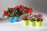 Кашпо для цветов длинное Orchidea H9
