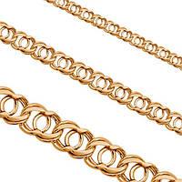 Золотой браслет на ногу арабский  бисмарк в золоте 585 пробы 850 гривен за грамм