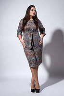 Красивое женское платье цветное