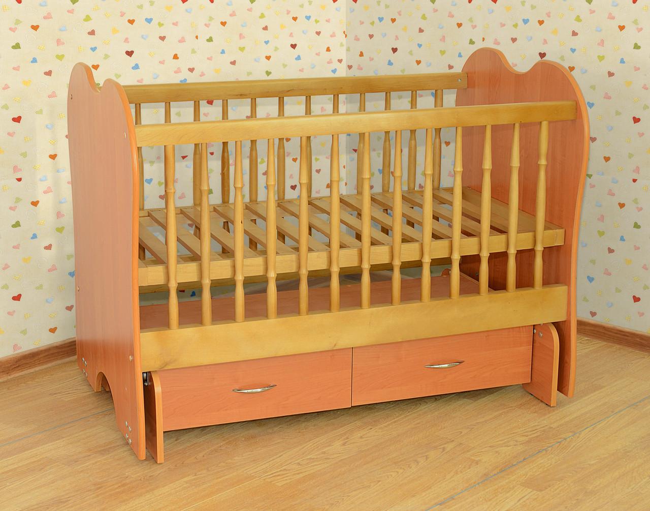 Кровать-колыбель без ящиков Летро