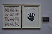 Рамка коллаж 8733 детская 12 фото+1 отпечаток