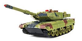 Танк радиоуправляемый 1:36 HuanQi H500 Bluetooth с и/к пушкой для танкового боя