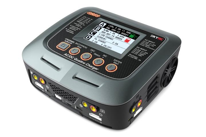 Зарядное устройство кватро SkyRC Q200 10A 200W/300W с/БП универсальное (SK-100104)