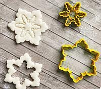 Набір сніжинок - Форма для печива і пряників