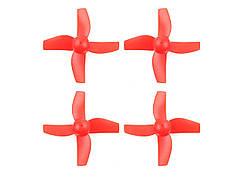 Пропелери для Eachine E010 комплект 4шт (червоний)