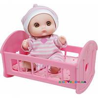 Пупс с кроваткой Jc Toys JC16912-6