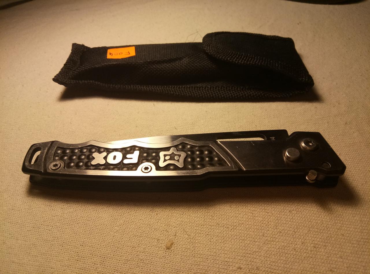 Нож выкидной Columbia F004