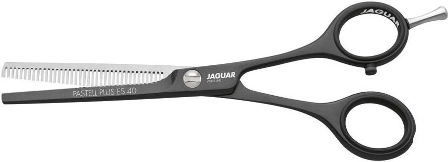 """Ножницы для стрижки филировочные Jaguar White Line Satin Es 40 Plus. Длина 5,00"""""""