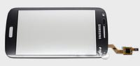 Тачскрин / сенсор (сенсорное стекло) для Samsung Galaxy Core i8260 Duos i8262 (черный цвет, самоклейка)
