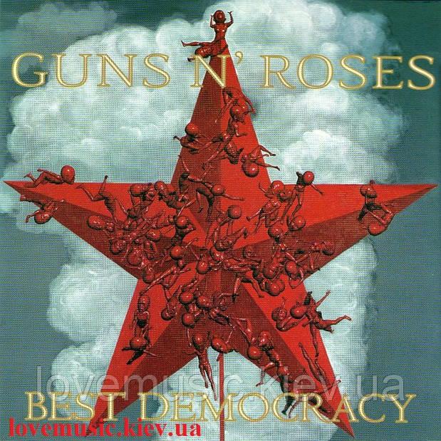 Музичний сд диск GUNS N' ROSES Best democracy (2008) (audio cd)