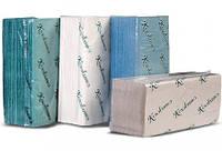 Полотенца бумажные листовые Кохавинка V-сложения 170 шт зеленые