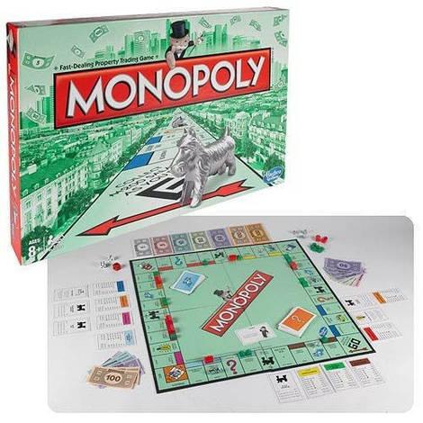 Игра Настольная Монополия обновленная, Hasbro