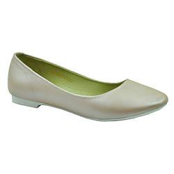 Туфли-лодочки кремового цвета для девочки, Eleven Shoes 37р.