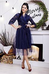 Фатиновая юбка длины миди №49