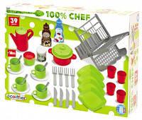 Набор посуды Chef-Cook, 39 аксессуара 002619 Ecoiffier