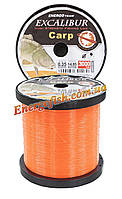 Леска Excalibur Carp Feeder Fluo Orange 3000 м 0.35 мм