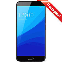 "☎Смартфон 5"" UMIDIGI C2, 4/64GB Black Full HD экран 8 ядер touch id Камера Samsung S5K3L8 13+5 Мп 4000 mAh"