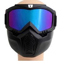 Маска на все лицо для лыжников, сноубордистов, мотоциклистов и велосипедистов