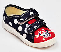 Тапочки для девочки Микки Маус, Waldi