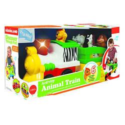Развивающая игрушка Паровоз Лимпопо Kiddieland