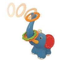Игрушка-кольцеброс Ловкий слоненок