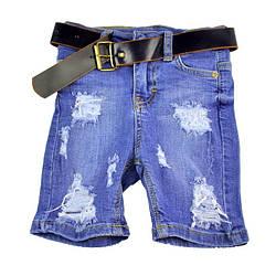 Джинсовые шорты для мальчика MAPKA
