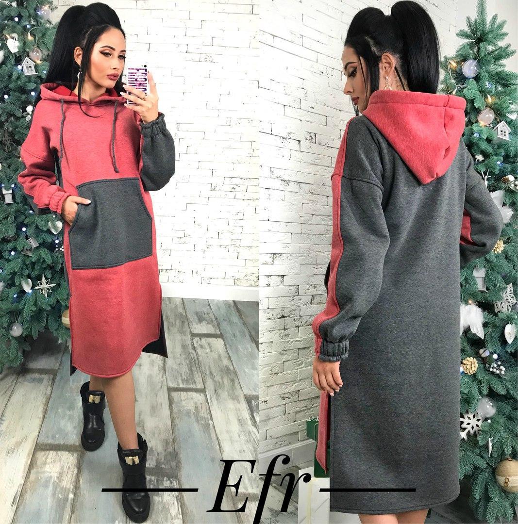 86dca622512 Теплое платье на флисе 243.1 ЕФ  продажа