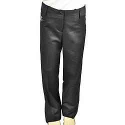 Школьные черные брюки для девочки