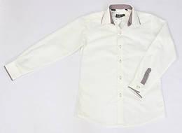 Стильная белая рубашка LAGARD