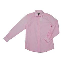 Школьна рубашка розовая для мальчика, Pan Fila