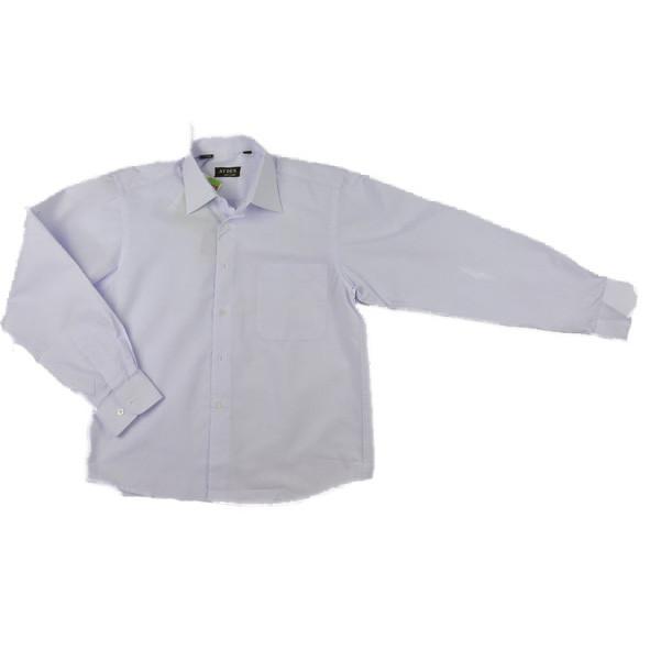 Рубашка школьная белого цвета AYDEN