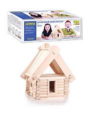 Конструктор деревянный Избушка, Энергия плюс