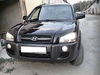 Ресницы на фары Hyundai Tucson 2004-2014