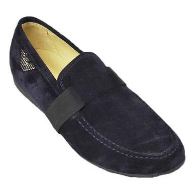 Замшевые туфли для мальчика 39р.